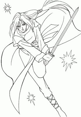 coloriage manga 18jpg