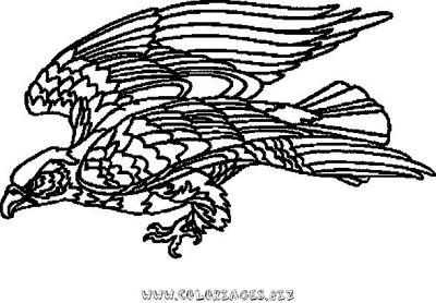 Coloriage aigle - Coloriage aigle ...