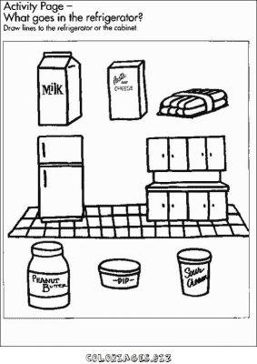 coloriages aliments page 5 aliments et cuisine. Black Bedroom Furniture Sets. Home Design Ideas