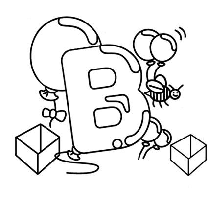 أوراق عمل الاحر ف تلوين للاطفال بالانجليزية b.jpg