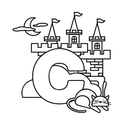 أوراق عمل الاحر ف تلوين للاطفال بالانجليزية c.jpg