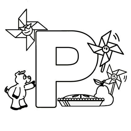 أوراق عمل الاحر ف تلوين للاطفال بالانجليزية p.jpg