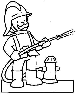 Coloriage pompiers - Pompier dessin ...