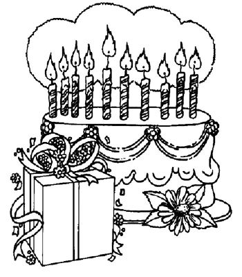 dessin gateau anniversaire 4 ans. Black Bedroom Furniture Sets. Home Design Ideas