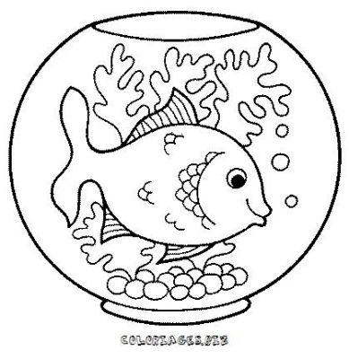 Coloriages poissons et aquariums page 1 animaux - Coloriage de poisson a imprimer ...