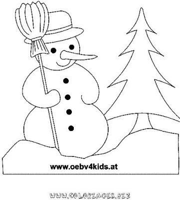 Coloriage en ligne bonhomme de neige gratuit 9674 noel - Bonhomme de neige a imprimer gratuit ...