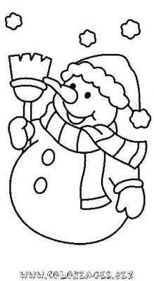 Coloriage en ligne bonhomme de neige gratuit 9665 noel - Bonhomme de neige a imprimer gratuit ...