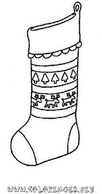 Coloriages bottes pour le pere noel page 2 noel - Bottes coloriage ...