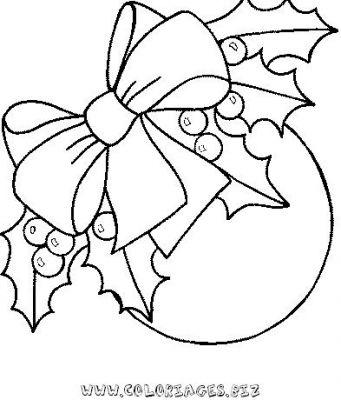 Coloriage en ligne boules de noel gratuit 9064 noel - Images boules de noel a colorier ...