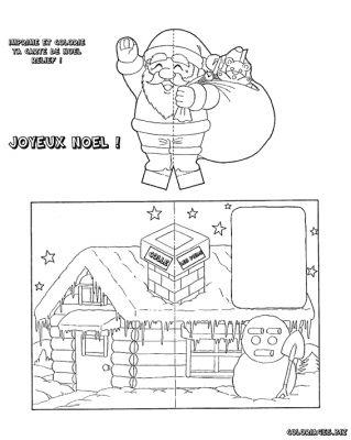 Coloriages Cartes De Noel Page 1 Noel