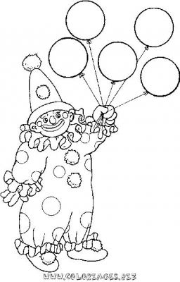 Coloriage Clown Voiture.Coloriages Clowns Page 3 Heros