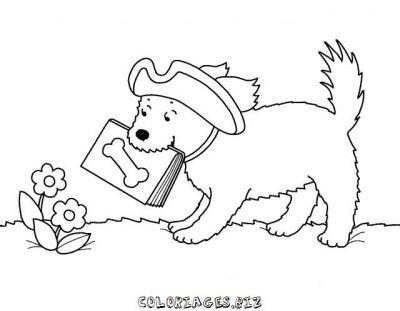 Coloriage de chien mignon - Dessin chien mignon ...