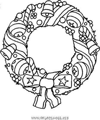 couronne_coloriage_noel_24jpg - Coloriage Noel