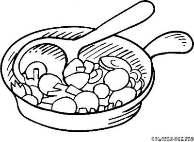 casserole crealys coloring pages - photo#26