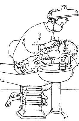 coloriages dentiste page 1 m tiers. Black Bedroom Furniture Sets. Home Design Ideas