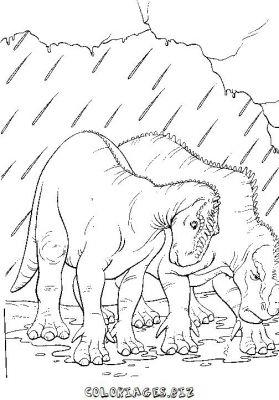 Coloriage dinosaure carnivore - Dinausore dessin ...