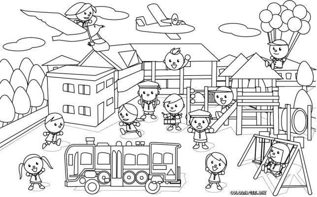 coloriages enfants page 1 famille enfants et bébés