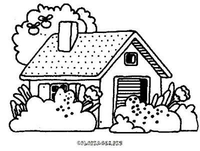 Coloriage ferme maison - Dessin de ferme ...