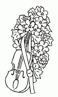 Bouquet de fleur coloriage - Fleuriste dessin ...