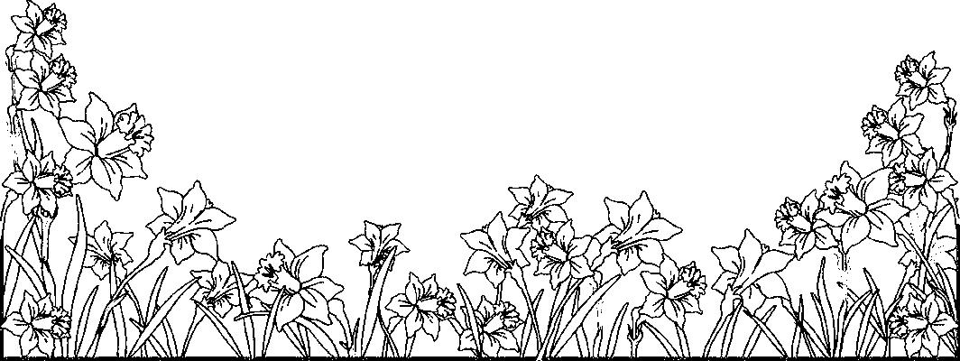 Frise fleurs colorier - Dessin a colorier fleur ...