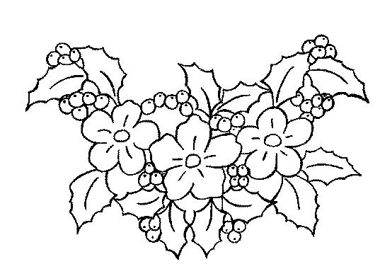 Coloriages fleurs et frises page 6 ecologie for Fleuriste ligne