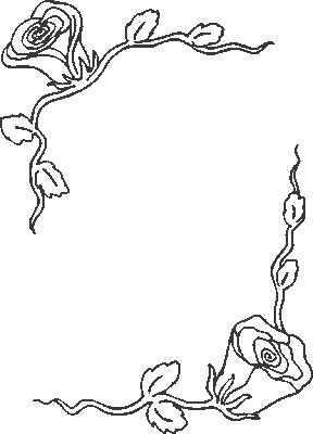 Coloriage Cadre Fleur.Coloriages Fleurs Et Frises Page 5 Ecologie