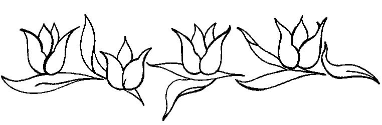 Coloriages fleurs et frises page 4 ecologie - Coloriage frise fleurs ...