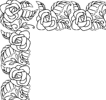 Normal frise coloriage fleurs for Bouquet de fleurs coloriage