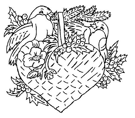 Fleurs de noel dessin - Coloriage frise fleurs ...