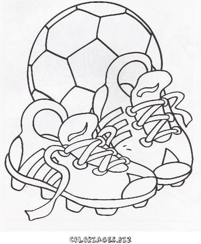 Coloriage ballon de foot - Coloriage de foot ...