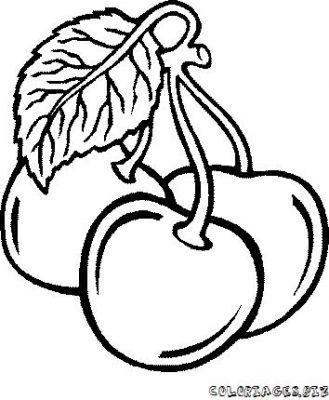 Dessin fruits exotiques - Fruits coloriage ...
