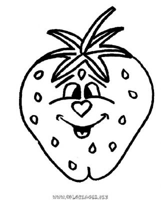 Coloriages fruits page 1 printemps - Fruits coloriage ...