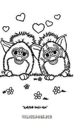 coloriage heros  Furby