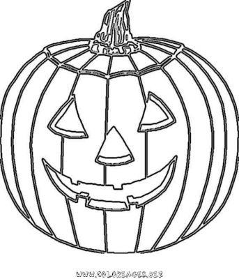 Dessin 0 colorier halloween - Dessin a colorier halloween ...