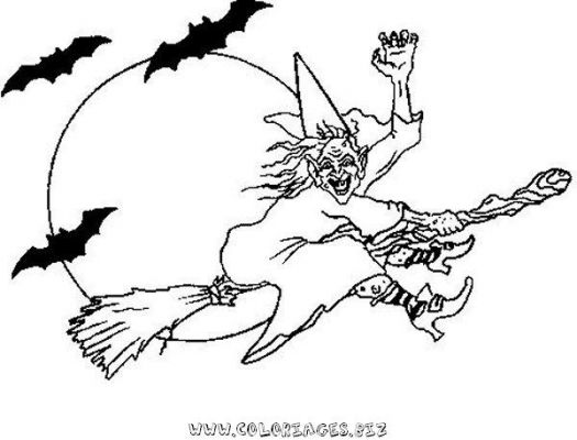 coloriages halloween sorcieres page 1 halloween