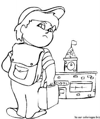 coloriages la rentrée des classes et écoles page 1 la rentrée des