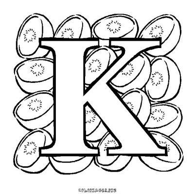 Coloriages un alphabet avec des fruits page 1 alphabet - Lettres a colorier ...