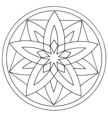 Jeux de mandala a colorier gratuit en ligne - Coloriage petit mandala ...