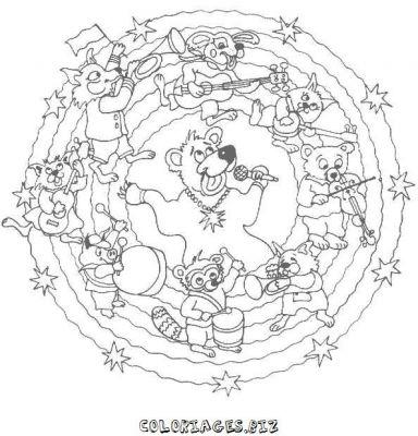 Jeux de mandala a colorier gratuit en ligne - Mandala a colorier en ligne ...