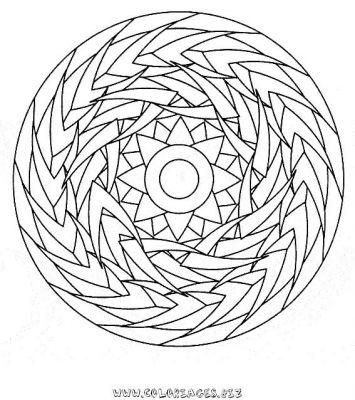 Coloriage en ligne mandala gratuit mandalas colorier - Mandala a colorier en ligne ...