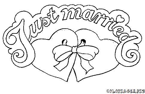 Coloriage Coeur Mariage.Fabrique Ton Coloriage Bd A Colorier Enfant