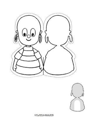 Coloriages gratuits marionnettes marionnette doigt 8 - Marionnettes a doigts a imprimer ...