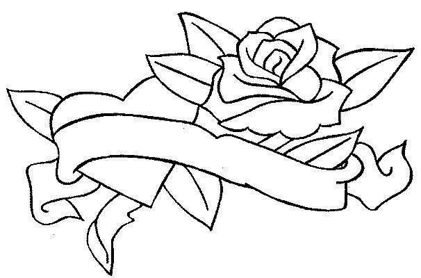 Les dessins des roses - Dessin de rose ...