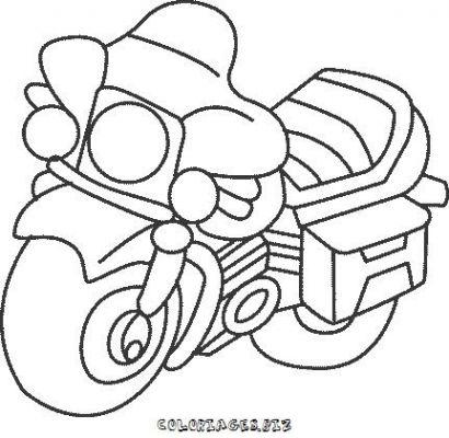 Coloriages motos page 1 transports - Moto a colorier en ligne ...