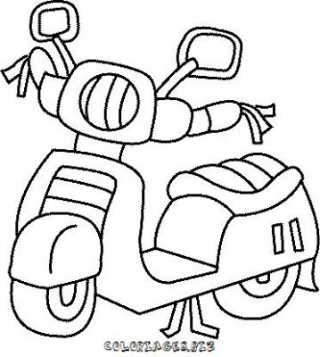 coloriages motos page 1 transports