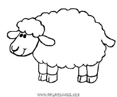 Coloriages moutons page 1 moutons - Mouton dessin ...