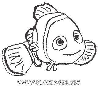 Coloriage En Ligne Nemo.Coloriages Nemo Page 1 Heros