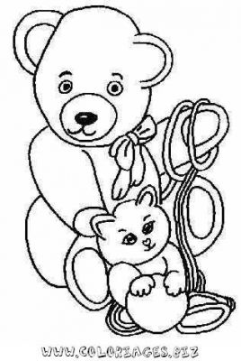 Coloriage en ligne ours gratuit 6745 animaux - Coloriage en ligne animaux ...