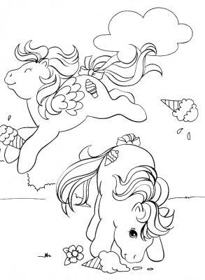 Coloriage en ligne mon petit poney gratuit 11619 h ros - Coloriage poney en ligne ...