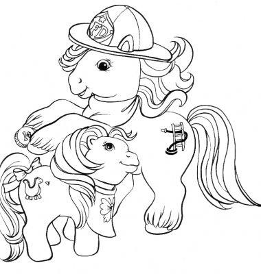 Coloriages mon petit poney page 1 h ros - Coloriage poney en ligne ...